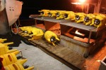 VEMCO Receivers ready to be secured - Northwest Vancouver Island, 2011