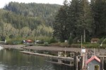 Winter Harbour - View from our deck in sunny Winter Harbour!